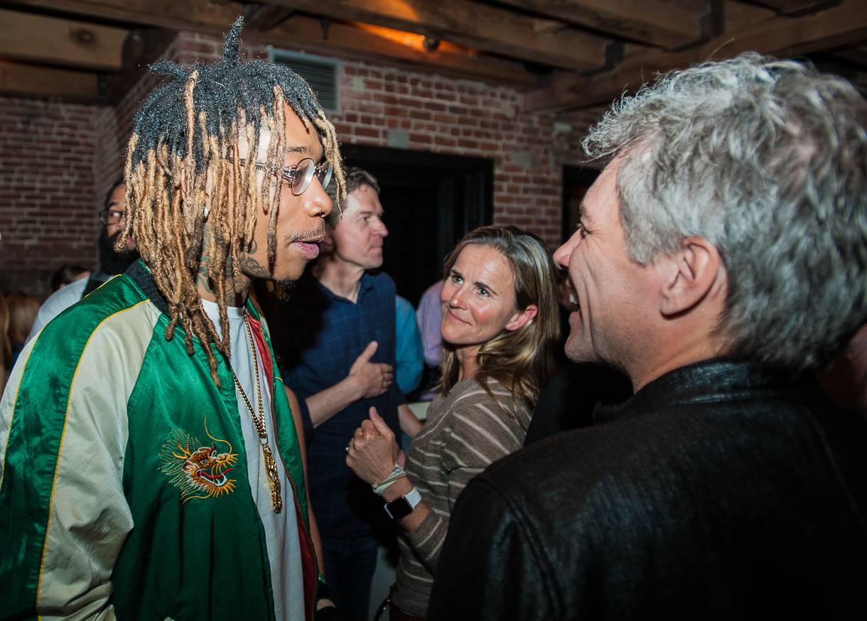Pictures of wiz khalifa pictures of celebrities - Wiz Khalifa Talks With Jon Bon Jovi
