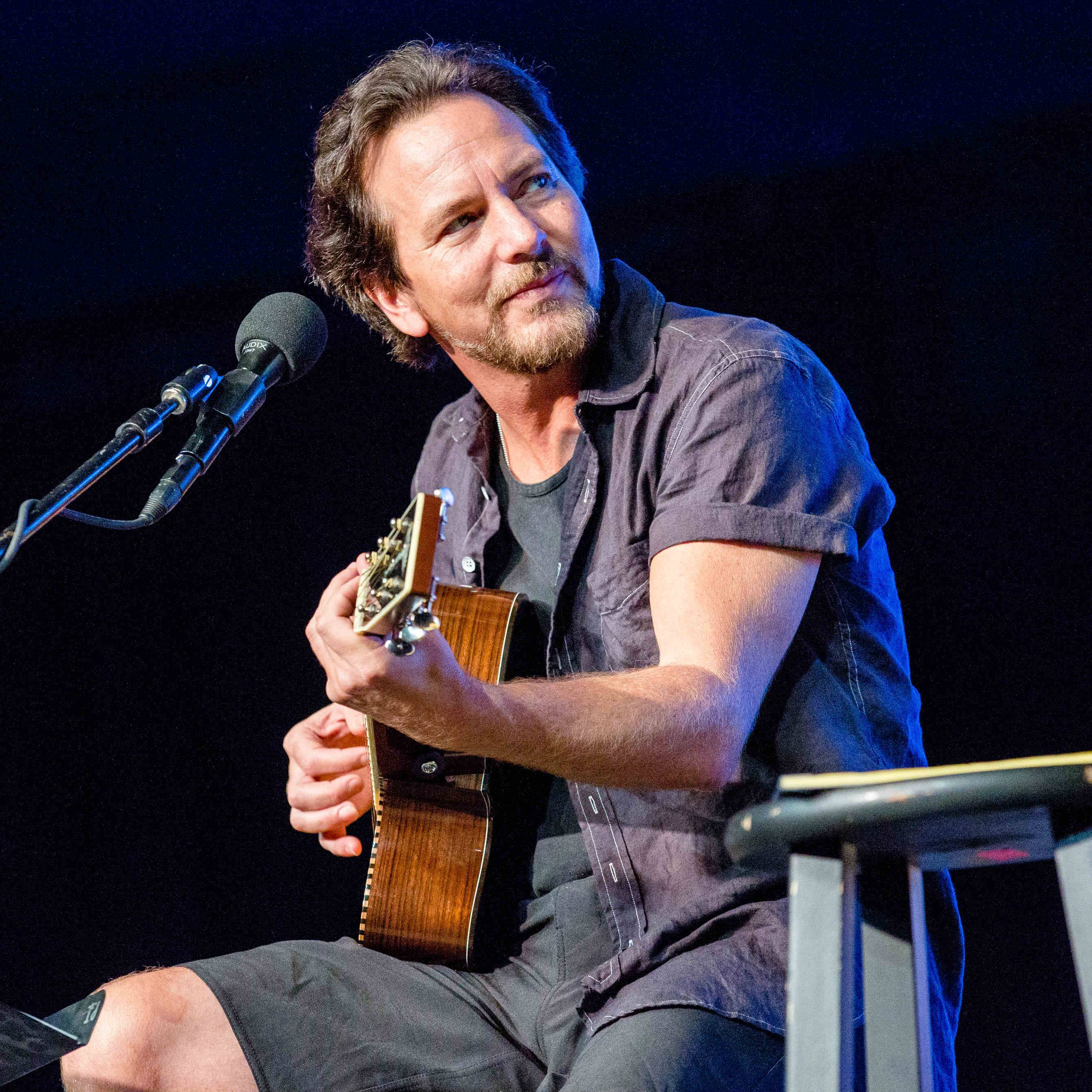Eddie Vedder Got All Of Bonnaroo To Wish His Daughter A