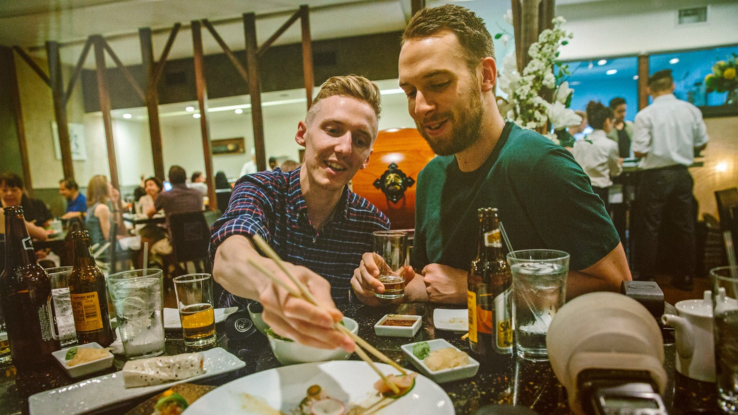 Dinner and a Show: HONNE Talk Sushi, Stonehenge, and the Soulful Side of Electronic Music