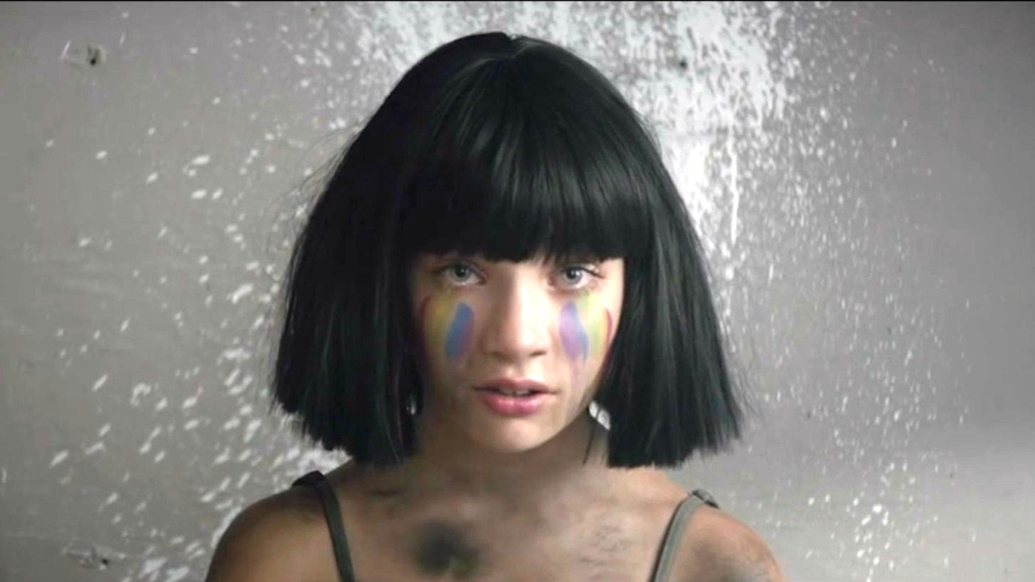 """Sia and Maddie Ziegler Team Up in the Video for """"The ... Magic! Album Cover"""